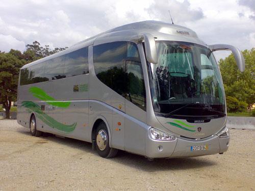 Autocarros de 50, 56 e 58 lugares